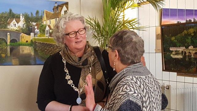 In gesprek met de burgemeester van Zuidhorn